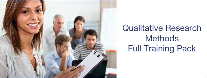Qualitative courseware